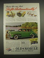 1940 Oldsmobile Custom Cruiser 4-Door Sedan Car Ad