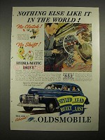 1941 Oldsmobile Special Six 4-Door Sedan Car Ad!