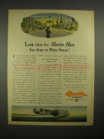 1944 Martin Mars Aircraft Ad - Done to Main Street!
