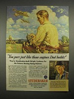1944 WWII Studebaker Boeing Flying Fortress Ad