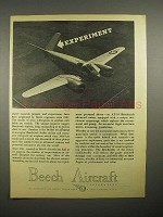 1945 WWII Beechcraft AT-10 Advanced Trainer Plane Ad
