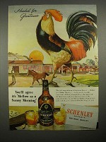 1946 Schenley Reserve Whiskey Ad - Headed for Greatness