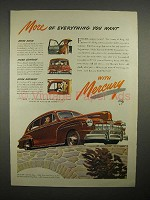 1946 Mercury Car Ad - More of Everything You Want