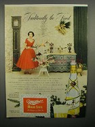 1952 Miller High-Life Beer Ad - Traditionally Finest