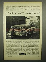 1959 Chevrolet Wagon Ad - Built as a Packhorse
