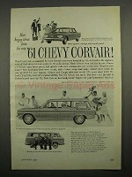 1961 Chevy Corvair 700, Lakewood 700, Greenbrier Ad