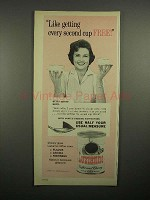 1965 Luzranne Coffee and Chicory Ad - Betty White