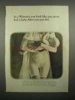 1965 Warner's Girdle Ad - Like You Never had a Baby