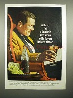 1965 Tab Soda Ad - 1 Calorie Soft Drink, Robust Flavor