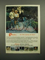 1973 Schwinn Super Sport Bicycle Ad - Young at Heart