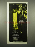 1973 Two People Movie Ad - Peter Fonda, Wagner