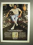 1973 Interwoven Esquire Socks Ad w/ Willie Mays