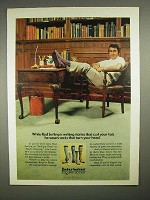 1973 Interwoven Esquire Socks Ad w/ Rod Serling