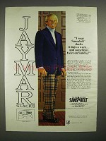 1973 Jaymar Slacks Ad w/ Tom Shaw