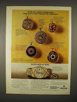 1973 Rolex Oyster Perpetual Day-Date Watch Ad!