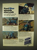 1973 Ford 2000, 3000, 4000 Tractor Ad