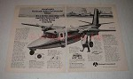 1973 Rockwell International Commander 690A Plane Ad