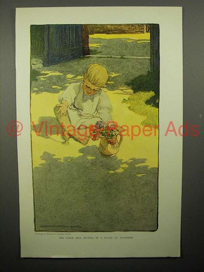 1908 Illustration by Elizabeth Shippen Green - Child