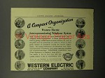 1908 Western Electric Telephone Ad - Compact