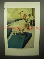 1908 Illustration by Howard Pyle - Sailors - Then Real Fight Began