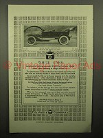 1913 White Seven Passenger Six Car Ad