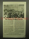 1913 AT&T Telephone Ad - Power of Silent Service