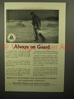 1913 AT&T Telephone Ad - Always on Guard
