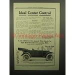 1913 Reo the Fifth Car Ad - Ideal Center Control