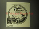 1913 Velvet Tobacco Ad - the Smooth Smoke Circle