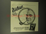 1913 Velvet Tobacco Ad - Get In Smooth Smoke Circle