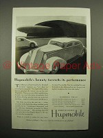 1934 Hupmobile Car Ad - Foretells its Performance