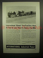 1938 International Harvester Diesel TracTracTor Ad!