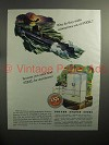 1944 WWII United States Steel Ad - Submarines Out of Steel