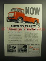 1957 Jeep FC-170 Truck Ad - Forward Control