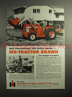 1959 International Harvester 340 Utility Tractor Ad