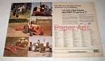 1973 Case 2470 Tractor Ad - With David Brown Models