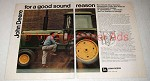 1973 John Deere 4430 Tractor Ad - Good Sound Reason