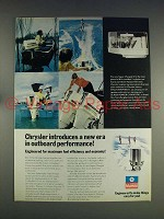 1974 Chrysler Super-charged 60 Outboard Motor Ad