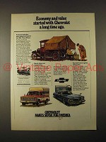 1974 Chevrolet Car & Truck Ad - Economy & Value