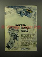 1974 Evinrude Silver Starflite 135 Outboard Motor Ad