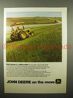 1975 John Deere Tractor Ad - Maintaining Million Miles