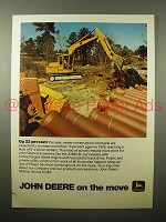 1975 John Deere JD690-B Excavator Ad - Up 22 Percent