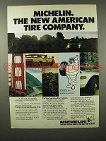 1975 Michelin Tire Ad - New American Tire Company
