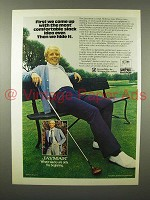 1975 Jaymar Slacks Ad w/ Tom Shaw - Most Comfortable