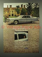 1976 Lincoln Continental Town Car Ad - Luxurious