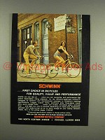 1975 Schwinn LeTour Bicycle Ad - First Choice