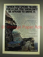 1976 Volvo 264 Car Ad - Shouldn't Be Afraid to Drive It