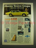 1976 Chevrolet Monza Towne Coupe Car Ad