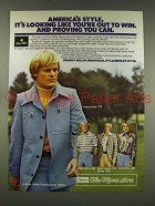 1976 Sears Johnny Miller Menswear Ad - America's Style