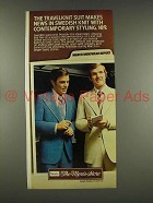 1976 Sears Travelknit Suit Ad - Bob Griese